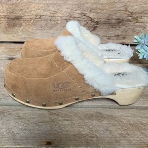 ✨ UGG Australia | Block Heel Clogs, Size 7